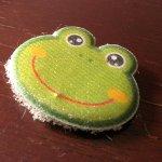 Frosch-Aufkleber