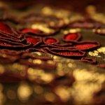 Gold-Stickerei
