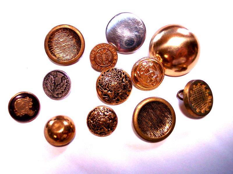 Knöpfe-Kupfer